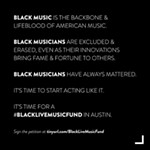 Faster Than Sound: Austin Musicians Petition for Black Live Music Fund