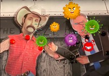 Premiere: Dumb Gives Greg Abbott COVID-19 in Animated Video