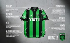 Austin FC Unveils First-Ever Jersey