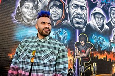 Local Muralist Chris Rogers Sparks Conversation Around the Black Lives Matter Movement