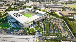 Construction of Austin FC Stadium Nears Completion