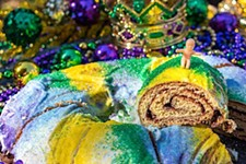 Mardi Gras Party at Swoop House Garden