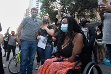 Protesters Allege Austin Police Dumped Quadruple Amputee Activist Whitney Mitchell Out of Her Wheelchair
