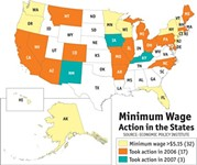 Days of Our Minimum-Wage Workers' Lives