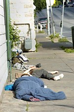 Homelessness in San Antonio and Austin