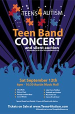 Teens4Autism Rocks Out