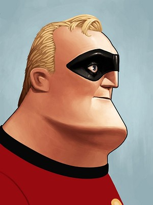 Face to Face With Mr Incredible