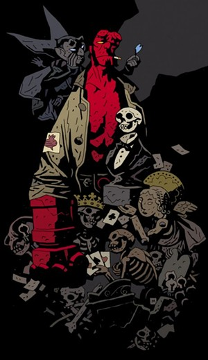 Staring Into the Abyss With Mike Mignola