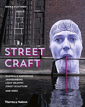 New Street Craft Book Features Local Yarnbomber Magda Sayeg