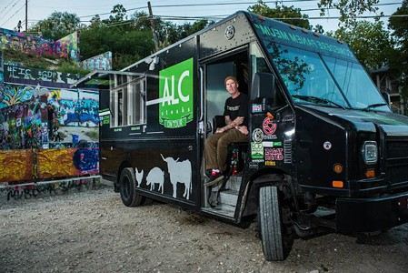 ALC Steaks Food Truck Totaled