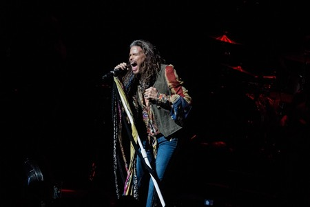 Steven Tyler Romps His Roots