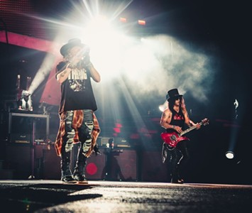 Guns n' Roses' Texas-Sized Reunion