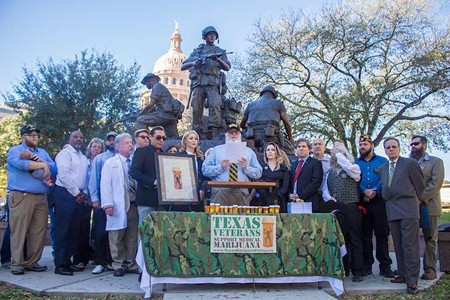 Texas Vets Push for Marijuana Reform