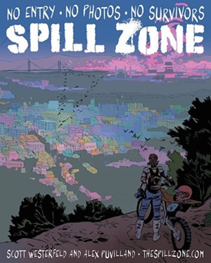 Beware the Spill Zone at BookPeople on Monday