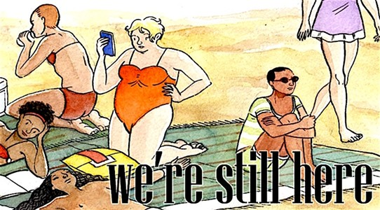 "Transgender Comics Anthology ""We're Still Here"" Nails Kickstarter to the Crowdfunding Wall"