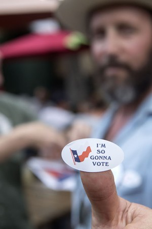 The Story Behind the I'm So Gonna Vote Stickers