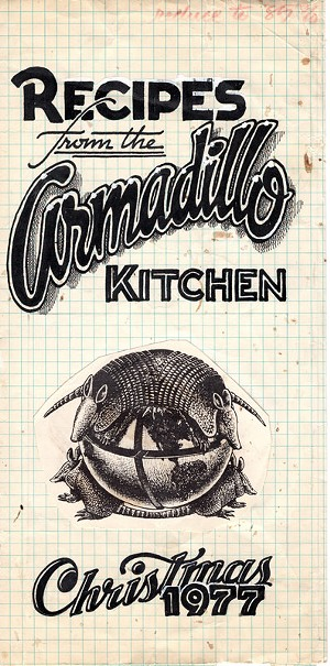 Armadillo World Headquarters Cookbook Unearthed by SouthPop!