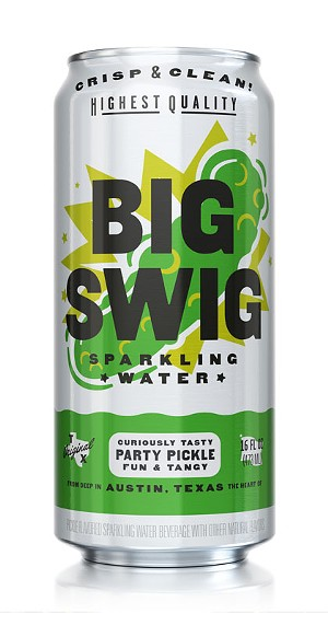 Very Texan: Big Swig Sparkling Water Releases New Pickle Flavor and More