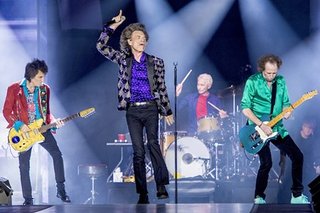 The Rolling Stones Storm Houston in Only Texas Date