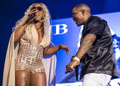Mary J. Blige & Nas Prove Their Royalty at COTA