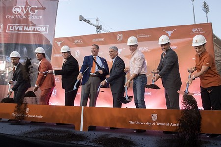 Moody Center Groundbreaking Promises the Finest Arena in the NCAA