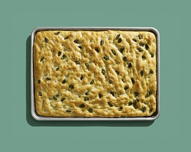 Olive & Rosemary Focaccia Recipe from Le Politique's Pastry Chef