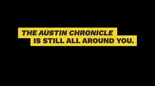 The Austin Chronicle Can Be Delivered to Your Door