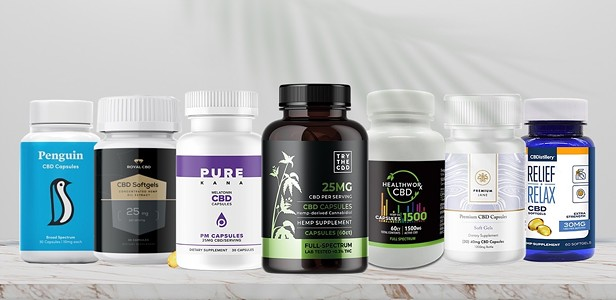The Best CBD Capsules and Pills for Pain