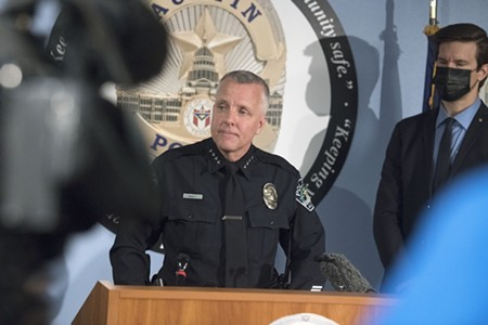 Austin Police Chief Brian Manley Announces Retirement