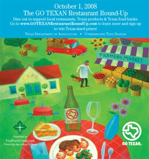 Go Texan Restaurant Day