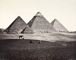 <i>The Pyramids of El-Geezeh, From the South-West</i>, 1859, by Francis Frith