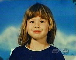 Stephanie Arena at age 7