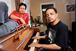 Play it again: Nguyen (l) and Wade