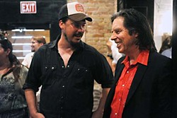 Jesse Dayton (l) and John Doe