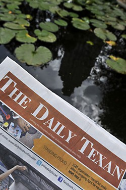 Best Local Non-'Chronicle' Publication: 'The Daily Texan'