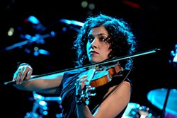 Carrie Rodriguez at Jeff Bridges' <i>ACL</i> taping