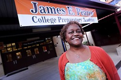 James E. Pearce College Prep Academy Principal Texanna Turner