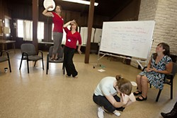 Conspire at play: A community workshop held on Oct. 22
