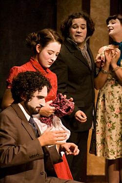 Oui, et ...: Pgraph improvising a French farce at the 2008 Hawaii Festival of Improv