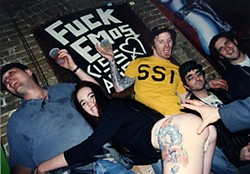 Fuckemos and friend in the naughty '90s