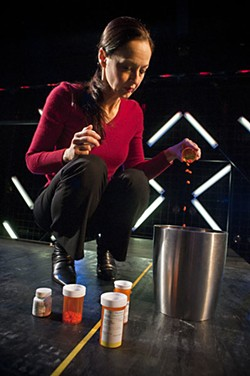 Meredith McCall as Diana in Zach Theatre's <i>Next to Normal </i>