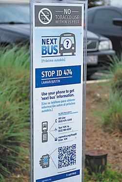 Scan your bus ride.