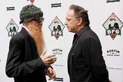 Billy Gibbons (l) and Jimmie Vaughan