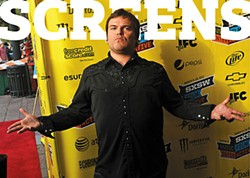 Jack Black at last week's <i>Bernie</i> screening