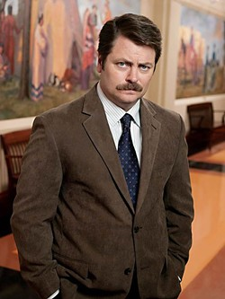 The man, the ham: Nick Offerman as Ron Swanson