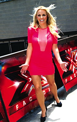 Also on the reality TV front, Britney Spears was in town for the <i>X-Factor</i> auditions at the Frank Erwin Center.