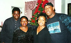 Family Ties (l-r): Octavis Berry, Pauline Starnes, Angela Enoch, and LaDarrick Torry