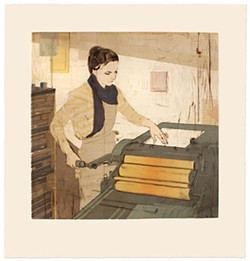 <i>The Light and the Letterpress</i>, by Ellen Heck
