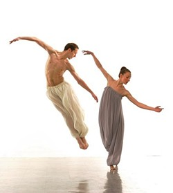 Members of the Erick Hawkins Dance Company performing New Moon