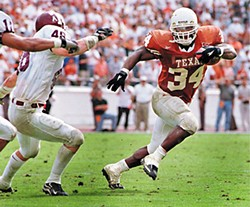 Ricky Williams, pre-Consciousness
